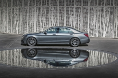 Mercedes-Benz S 500, selenitgrau metallic, Leder Exklusiv Nappa magmagrau/espressobraun;Kraftstoffverbrauch kombiniert: 6,6 l/100 km; CO2-Emissionen kombiniert: 150 g/km*Mercedes-Benz S 500, selenite grey metallic, exclusive nappa leather magma grey/espresso brown;fuel consumption combined: 6.6 l/100 km; combined CO2 emissions: 150 g/km*
