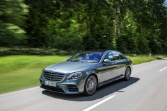 Mercedes-Benz S 500, selenitgrau metallic, Leder Exklusiv Nappa magmagrau/espressobraun;Kraftstoffverbrauch kombiniert: 6,6 l/100 km; CO2-Emissionen kombiniert: 150 g/km*Mercedes-Benz S 500, selenite grey metallic, exclusive nappa leather magma grey/espresso brown;fuel consumption combined: 6.6 l/100 km; combined CO2 emissions: 150 g/km*