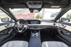 Mercedes-Benz S-Klasse S 560, designo diamantweiss bright;Kraftstoffverbrauch kombiniert: 7,9 l/100 km; CO2-Emissionen kombiniert: 181 g/km*Mercedes-Benz S-Class S 560, designo diamond white bright;Fuel consumption combined: 7.9 l/100 km; combined CO2 emissions: 181 g/km*