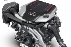 2.9 litre V6 TFSI engine in the Audi RS 4 Avant