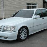 Mercedes S-class W140 обзор описание фото видео характеристика.