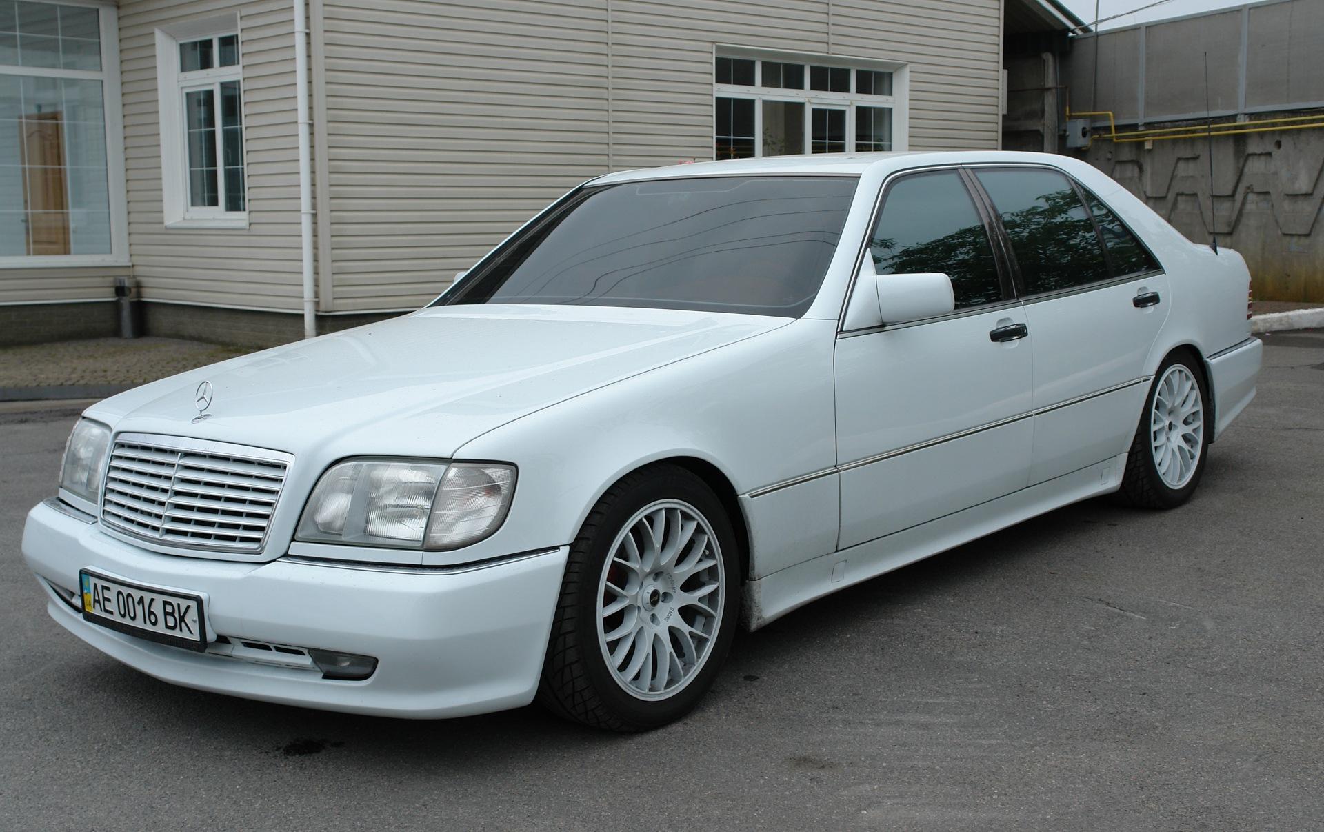 Мерседес S-class W140: обзор,описание,фото,видео ...