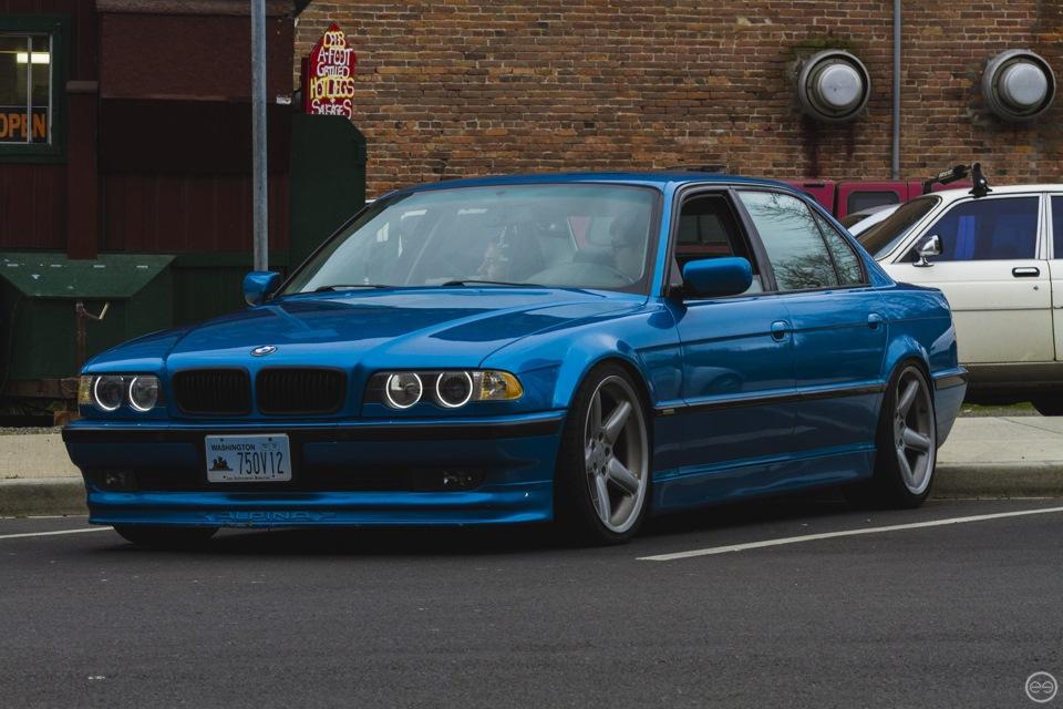 расход топлива BMW 750 e32
