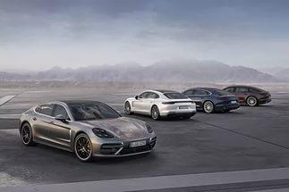 2017 Porsche Panamera 4 E-Hybrid  обзор описание фото видео характеристики