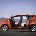 Opel meriva  технические характеристики обзор описание фото видео