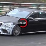 2018 Mercedes-AMG S63 — видео