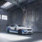 BMW Новый M4 GT4 имеет несколько новых фишек.
