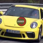Обновленный 2018 Porsche 911 GT3 — видео