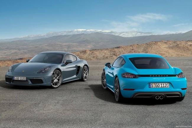 Купе Porsche 718 Cayman 2017 описание обзор модификации технические характеристики фото видео