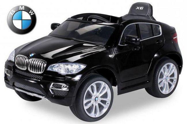 Детский электромобиль БМВ — мечта каждого ребенка.