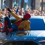 2018 Audi A8 и человек-паук Премьера [w / Videos]