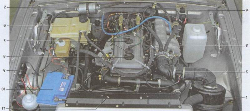 Система охлаждения двигателя описание,принцип работы,устройство,промывка,неисправности.