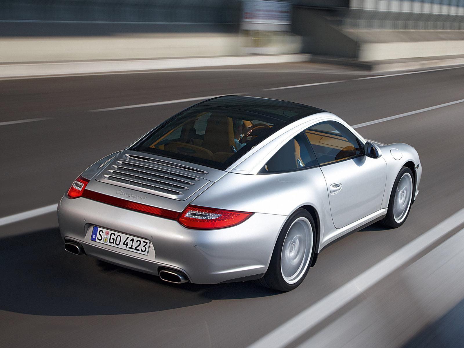 2017 Купе Porsche 911 Targa — характеристики интерьер безопасность гарантия