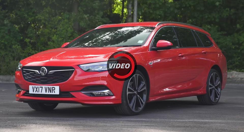 Новый спортивный  Opel / Vauxhall Insignia — видео.