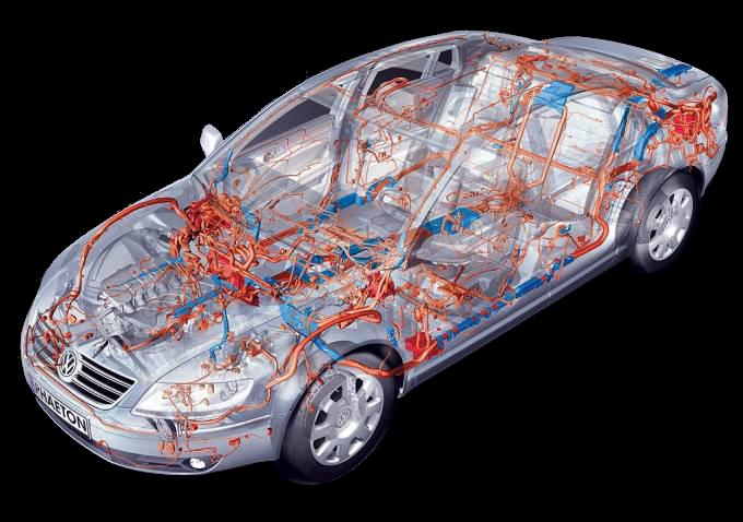 Электрооборудование автомобиля: приборы освещения,сигнализация,система пуска двигателя,контрольно измерительные приборы.