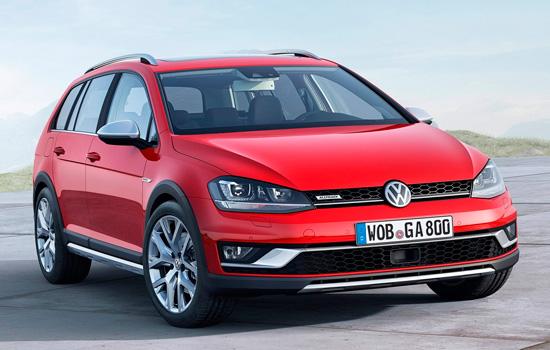 2017 VW Golf SportWagen Alltrack: обзор,описание,цена,комплектация,фото,видео.