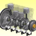 Кривошипно-шатунный механизм: описание,фото,видео.