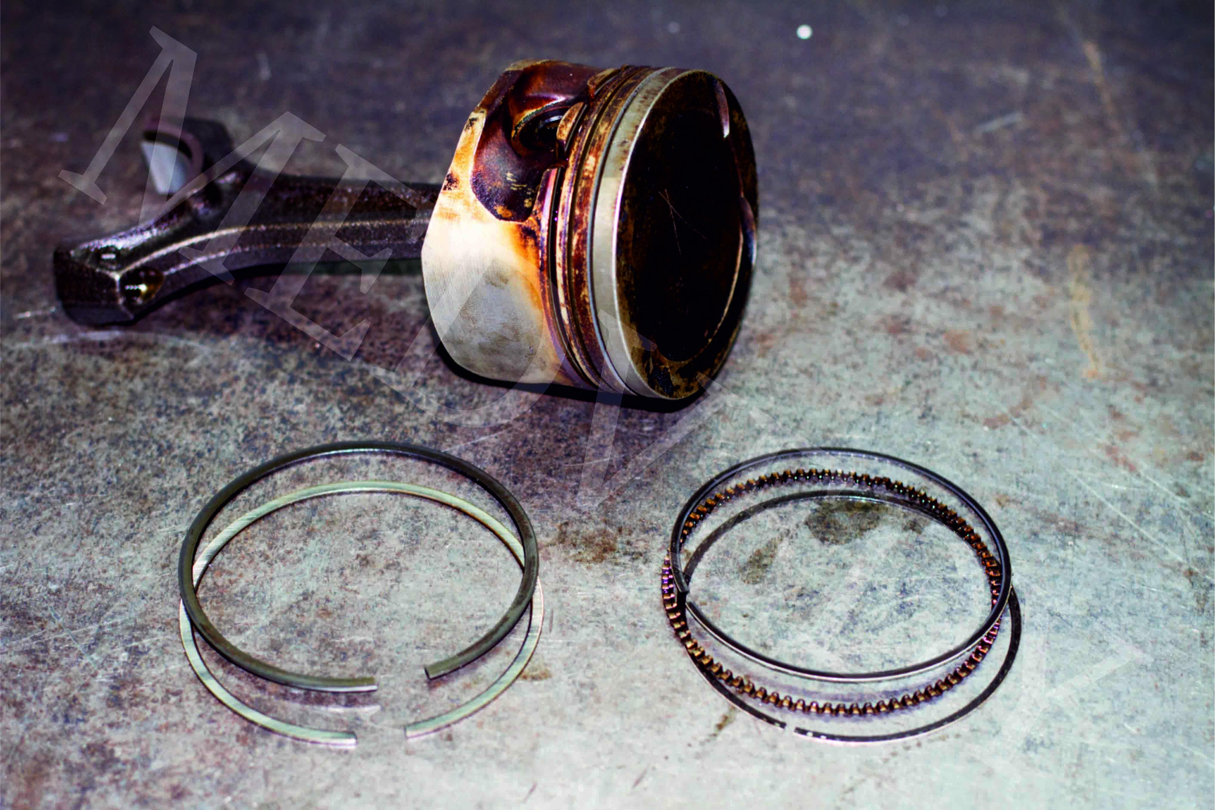 Поршневые кольца: описание,виды,устройство,назначение,фото,видео.