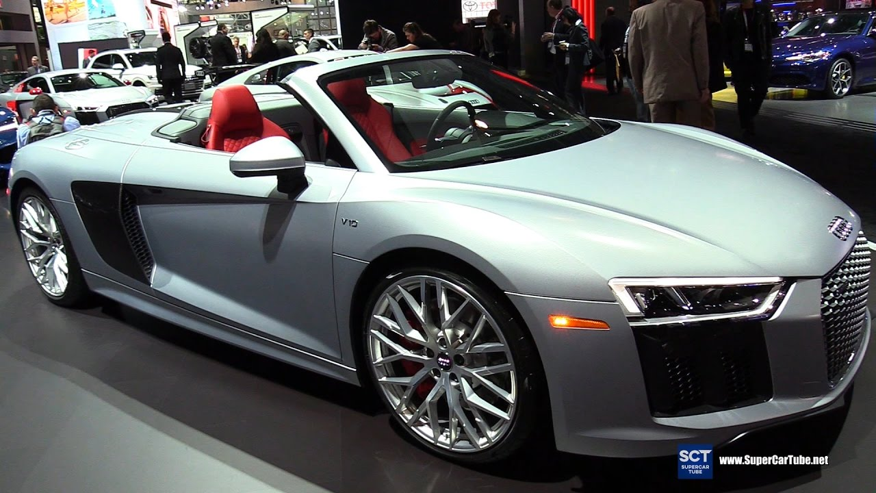 Audi R8 2018: описание технические,характеристики,цены,фото,видео.