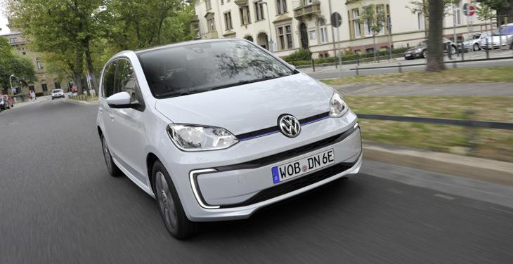 Volkswagen снизил цену на электрический up!