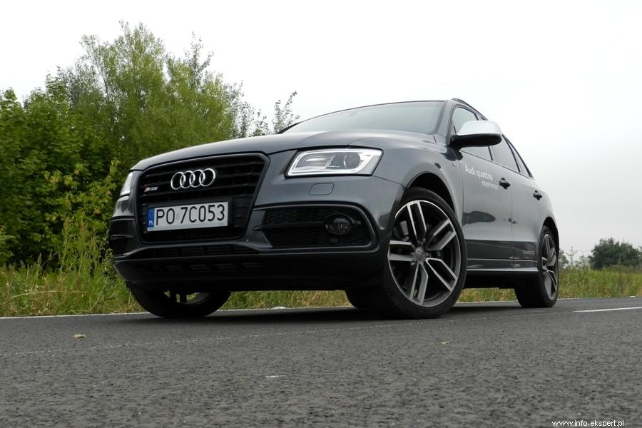Audi SQ5 3.0 TDI: тест драйв,фото,описание,двигатель.