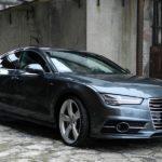 Audi A7 Sportback 3.0 TFSI: тест драйв,двигатель,фото,описание.