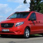 Mercedes-Benz Vito Панельный грузовик 111 CDI — тест драйв.