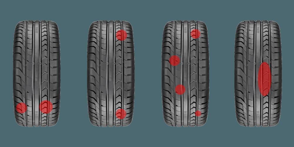 Почему шины изнашиваются?