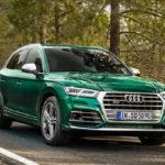 Audi SQ5 2019 : мгновенный эффект мощности с электрическим компрессором