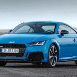 Новый Audi TT RS Coupe 2019 года в отличной форме