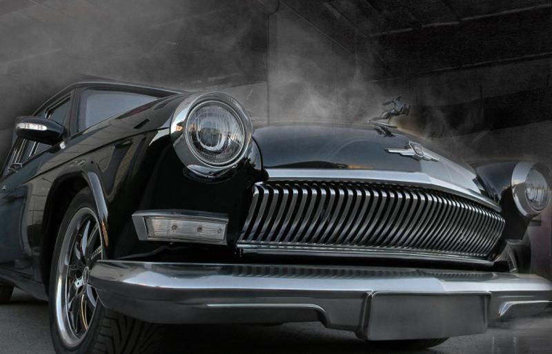 ГАЗ-21 на основе от Mercedes-Benz