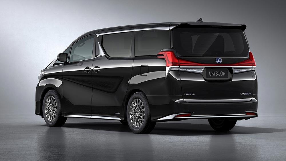 Lexus LM  как ультра роскошный минивэн для Китая