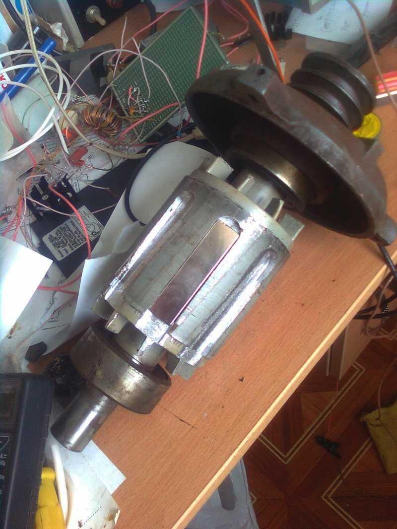 Как сделать генератор с двигателем самостоятельно