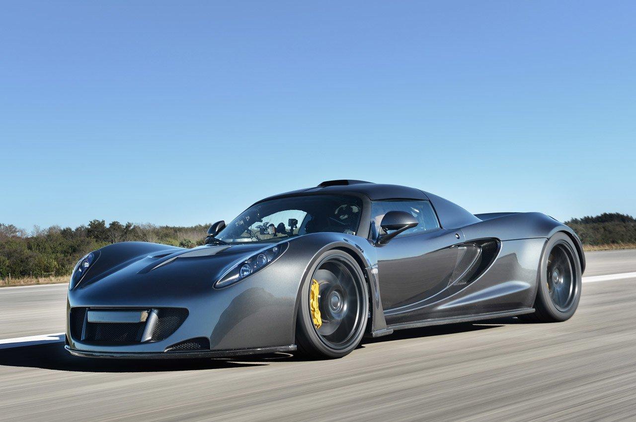 7 самых быстрых легковых автомобилей всех времен