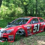 Фотографии заброшенных гоночных автомобилей NASCAR