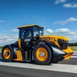 Самый быстрый в мире трактор имеет 1000 лошадиных сил от 7,2-литрового дизельного двигателя