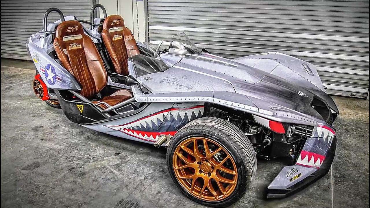 10 Привлекательных спортивных автомобилей с ощущением мотоцикла сделанных на заказ