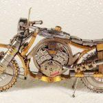 Мини-мотоциклы сделанные из часов
