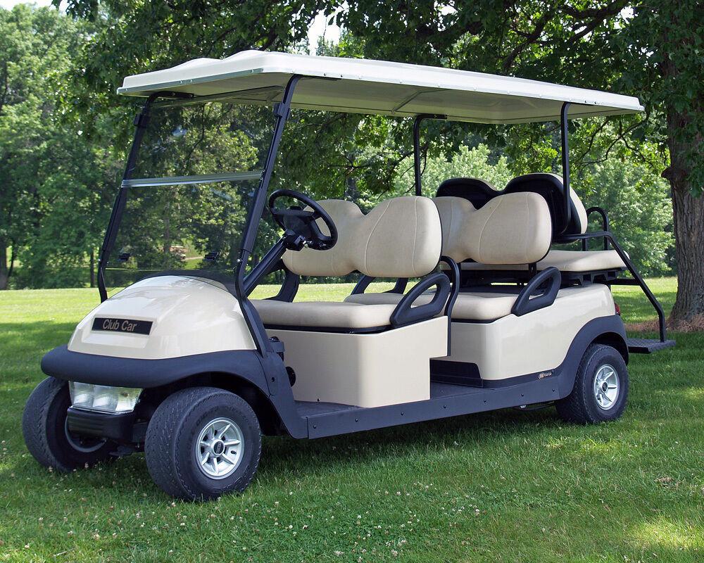 15 Индивидуальных автомобилей для гольфа