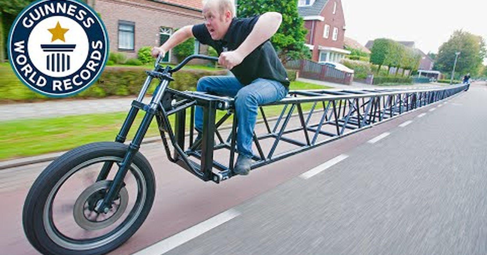 Список 8 самых странных велосипедов в мире