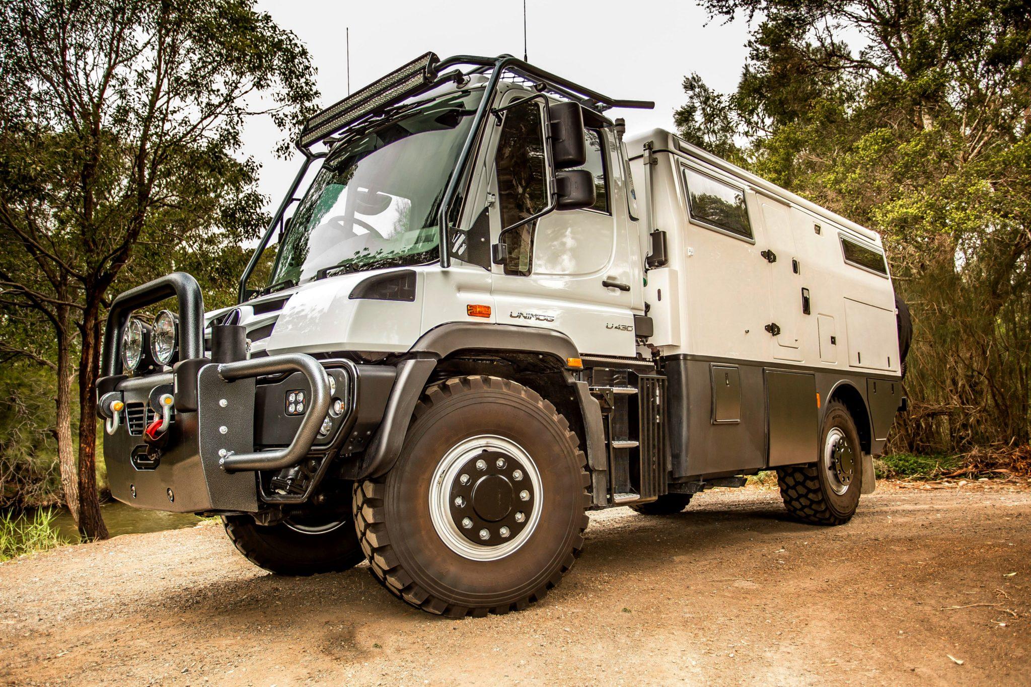 Mercedes Unimog Camper — идеальный вездеход