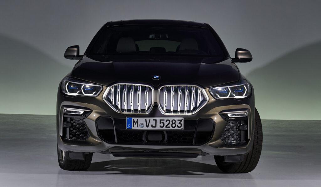 Баварцы без фанатизма обновили кроссовер BMW X6 — ДРАЙВ