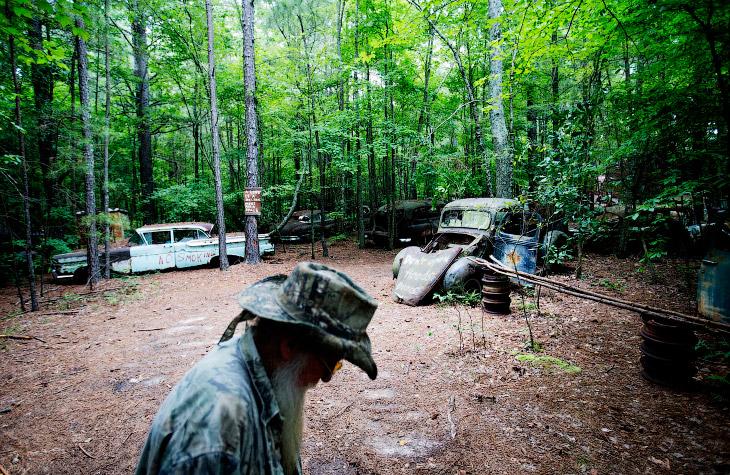 Кладбище старых автомобилей