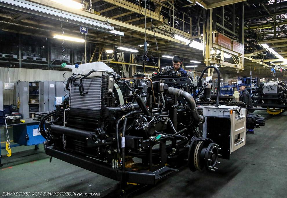 Автомобильный завод Камаз — как собирают грузовики