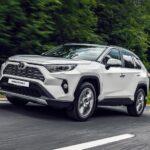 Тойота Рав 4 2020 с улучшенной системой полного привода и подвеской