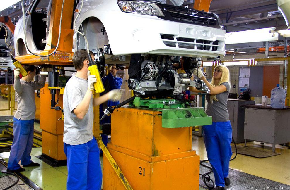Большой репортаж о том, как делают машины на АвтоВАЗе сегодня — 41 фото