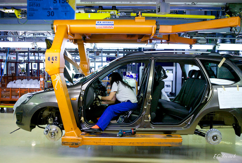 Как изготавливают Datsun on-DO на АвтоВАЗе