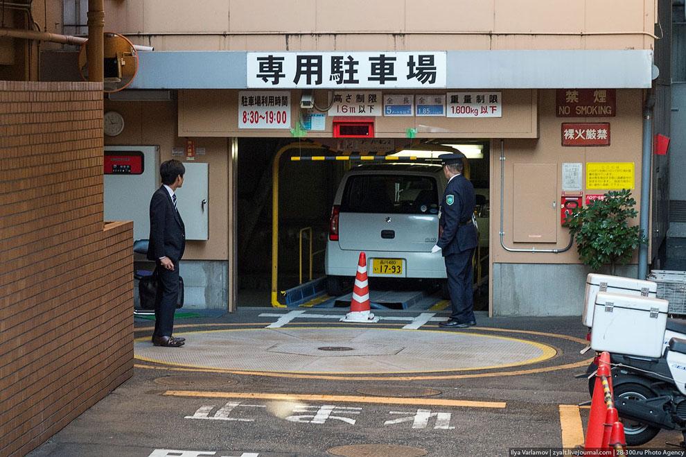 Правила пользования личным автомобилем в Японии