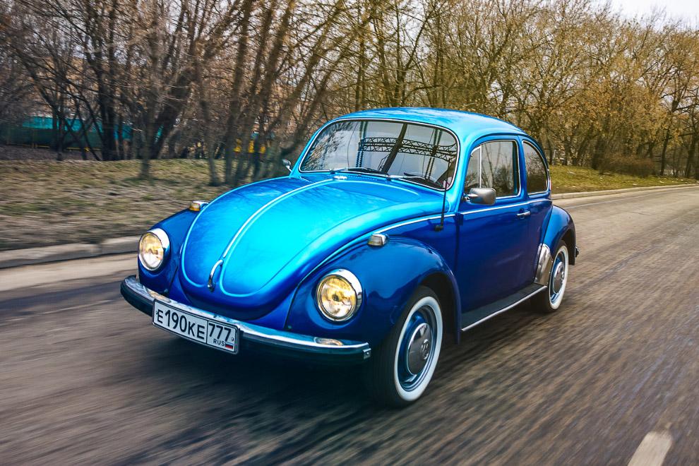Фольксваген Жук самый массовый автомобиль в истории, производившимся без пересмотра базовой конструкции