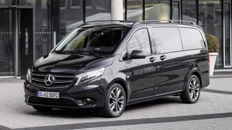 Мерседес Вито 2020 в трех компоновках: пассажирской (Tourer), грузопассажирской (Mixto) и грузовой (Panel Van)